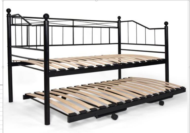 2015 vente chaude cum canap design de lit en fer forg lit de jour lit en m - Lit gigogne fer forge ...