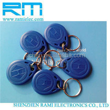 NTAG203 NFC RFID tag M1K/4K RFID key fob with code number from china