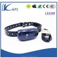 LKGPS LK110 pet gps tracking logger gps chip for pets with IOS app gps collar