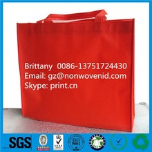 Wholesale personalize non-woven promotional tote bag