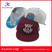 wholesale promotional flexfit custom-made navy blue flat brim fashion design your logo embroidery baby hat snapback caps