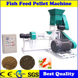 Single Screw Floating Fish Feed Extruder Machine with Cheap Price