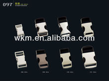 dog collar side release reflective buckle