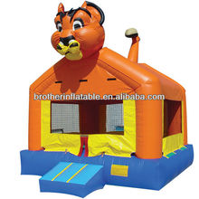King of lion inflatable bouncer castle
