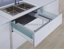 Durable sink conbinet drawer silde system