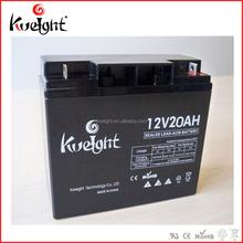 Small size 12V batteries sealed lead acid battery 12v 20ah