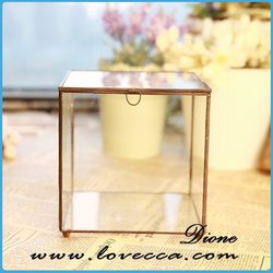 glass globle candle holders terrarium decoration
