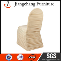 Wholesale High Quality Ruched Chair Cover JC-YT201