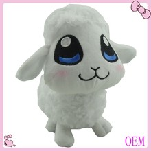 Custom Stuffed and plush white plush sheep toy