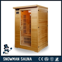 Good health conbined shower room ozone steam sauna for sale