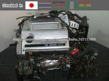 Motores usados NISSAN VQ20-DE Chequeado la calidad por JRS (Estándar Reutilización Japonés ) y PAS777