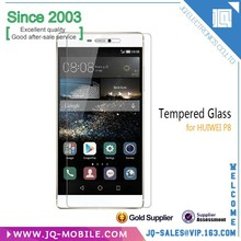 China New Brand Smartphone 9h explosion-proof tempered glass wholesale for huawei P8