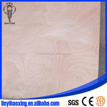 Sanded well okoume plywood top grade for furniture to Europe