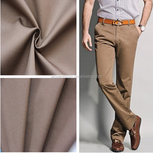 100% cotton fabric for fashion casual pants