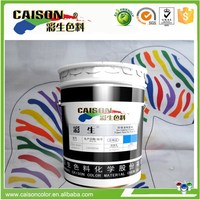 Advanced screen printing pigment emulsion in chemical