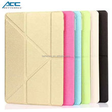 Made in China classic design folding leather case for iPad air 2