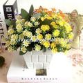 36 Jefes Wholesale Artificial plástico Crisantemo de flor para la decoración casera