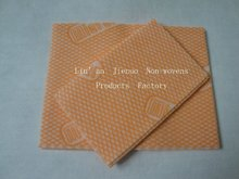 steady performance spunlace nonwoven cloths folding