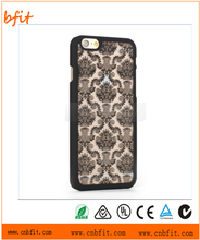 Pc material carved Flower Mobile phone case for iphone 6, for iphone 6 case crystal