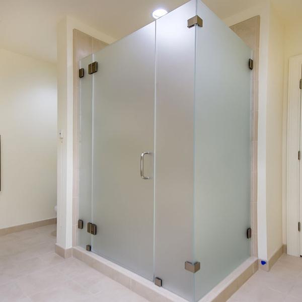 Puertas Para Baño En Puerto Ordaz:mm esmerilado templado de vidrio para puerta del baño-Cristal de