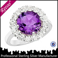 Crear joyas anillo de diamantes