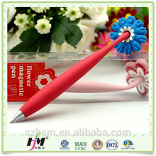Top selling products 2015 silver plated magnet pen