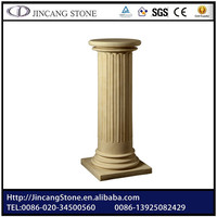 Roman stone pillar for garden wedding decoration Factory Price