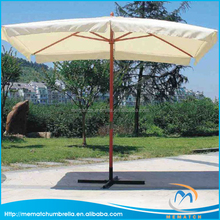 Outdoor Furniture General Use and Wooden Pole Material Market Umbrella