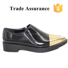 Slip-On Flat normal Style and PU Upper Material lady shoe