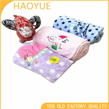 anime printed blanket for babies 100% polyester polar fleece koeran quality baby blanket