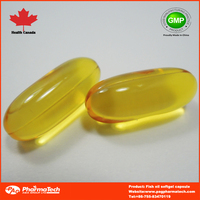 Fish Oil Softgel 1000mg Dietary Supplement