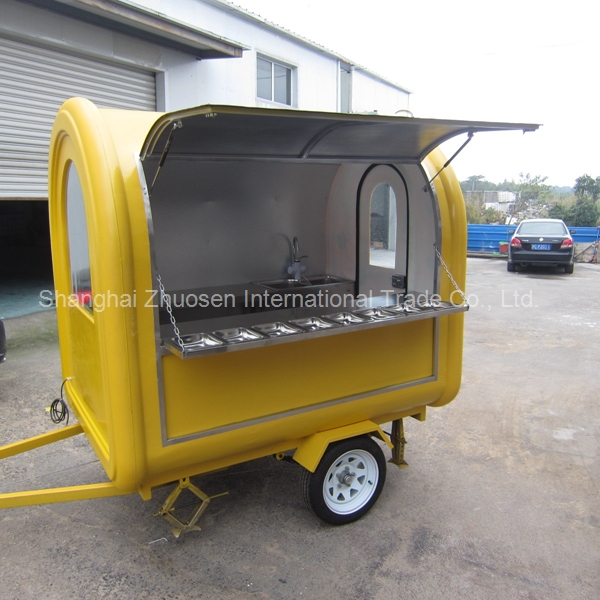 Hot And Popular Catering New Food Coffee Trailer Trucks For Sale