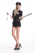 instyles new womens ladies sexy police fancy dress costume outfit uniform ladies office