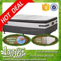 Popular sleepwell cool gel queen size mattress ocean