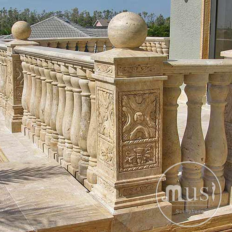outdoor garden decoration metal bronze decorative balusters