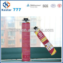 Expansion joint spray foam adhesives