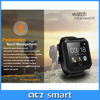 Factory price fashion touch screen Android waterproof smart watch2015 with Android smartphone
