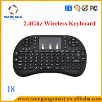 Hot selling prodcuts I8 Mini bluetooth keyboard air mouse keyboard 2.4g air mouse for android tv box