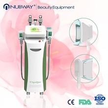 Cryotherapy freezing fat to lose weight slimming machine NUBWAY C32 / CE popular in Australia,England,Canada,Italy,Brazil,USA
