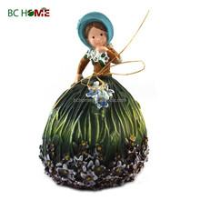 2015 New design Garden Decorations girl in the flower
