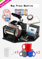 DIY package sublimation mugs heat press machine to make circuit printed for small business