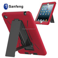 Graceful soft silicon gelly back cover for ipad mini 4 TV stand case / stand on desk tablet case for Ipad mini 4 robot case