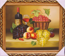 excellent quality home decor still life oil painting ct-379