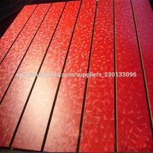 Paneles slatwall tablero MDF de la melamina / slats / slatwall