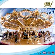 Popular in China cheap amusement park equipment lego grand carousel musical carousel