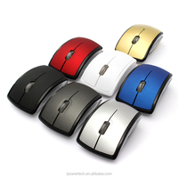 Best Christmas gifts 2.4GHz Wireless Foldable mice wireless foldable mouse
