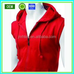 OEM custom mens hoodie, sleeveless hoodie