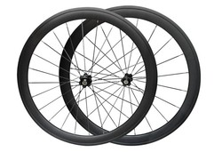 High end 700C carbon bicycle wheelset 50mm with NOVATEC hub OEM ODM