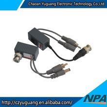 Three in one /Neutral Multi-Functional Twisted Pair Audio/ Video RJ45 Power Video Balun/BNC Connector