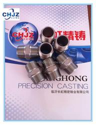 BSPT/BSP/NPT Stainless Steel 304 Hex Nipple Direct FACTORY